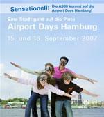 Airport Days am Hamburger Flughafen / 15.09. und 16.09.2007