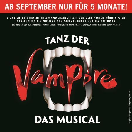 Tanz der Vampire - ab September 2017 Grusel in Hamburg